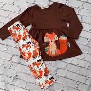 Boutique Girls Foxy Trot 2pc Tunic & Pants